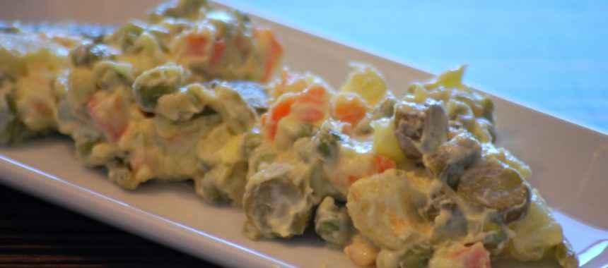 Insalata russa fatta in casa: La ricetta!