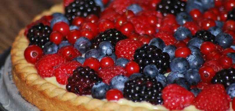 Crostata ai frutti di bosco (ricetta Bimby)