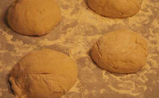Pane fatto in casa di grano duro