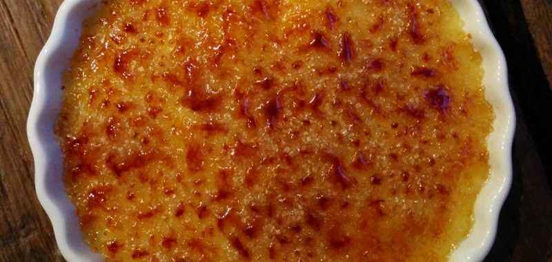 Crema catalana (ricetta Bimby)