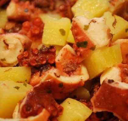 Insalata di polpo con patate (ricetta Bimby)