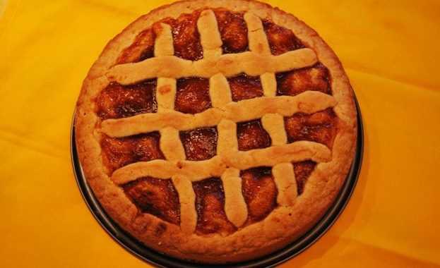 Crostata alta alla marmellata (ricetta Bimby)