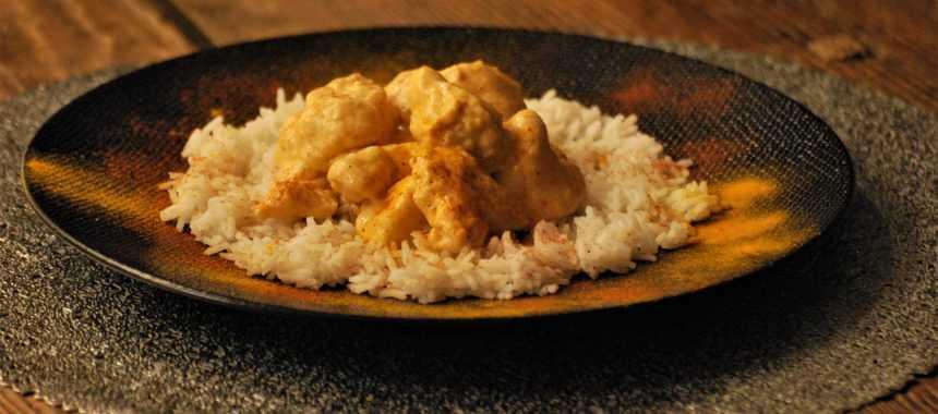 Pollo alla panna con Paprika e Curcuma
