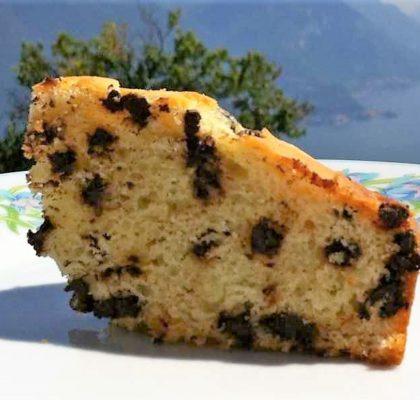 Torta di ricotta e gocce di cioccolato (ricetta Bimby)