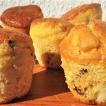 Muffin alle mele e uvette