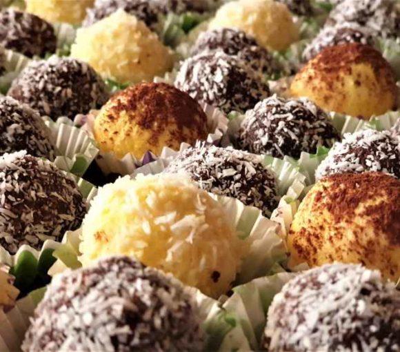 Ricette Dolci - palline di mascarpone e cioccolato al cocco