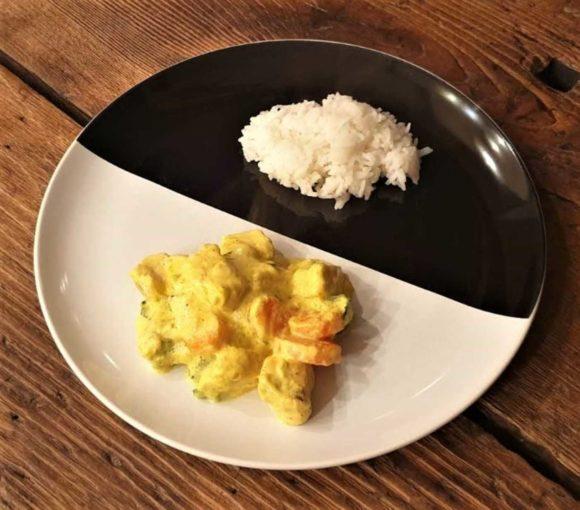Ricetta pollo al curry con verdure