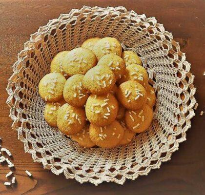 Ricetta biscotti alla farina di mais